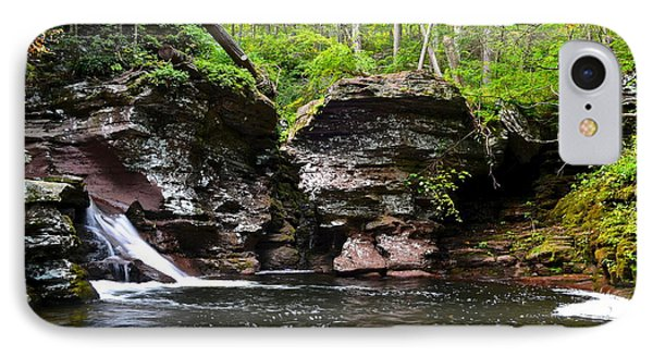 Lower Adams Falls Phone Case by Frozen in Time Fine Art Photography