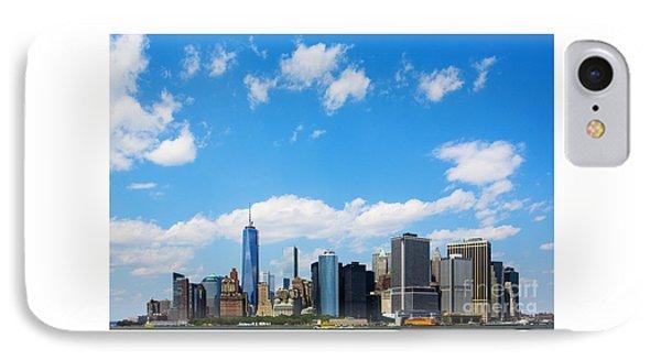 Lower Manhattan New York City IPhone Case by Diane Diederich