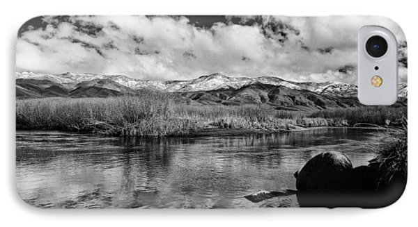 Lower Owens River IPhone Case by Cat Connor