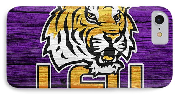 Lsu Tigers Barn Door IPhone Case by Dan Sproul