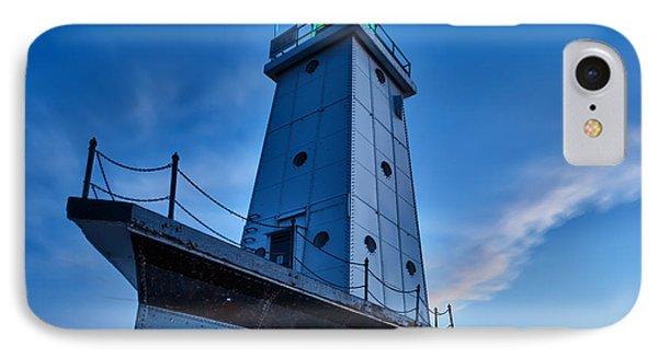 Ludington Lighthouse IPhone Case by Sebastian Musial