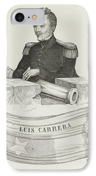 Luis Carrera IPhone Case by British Library