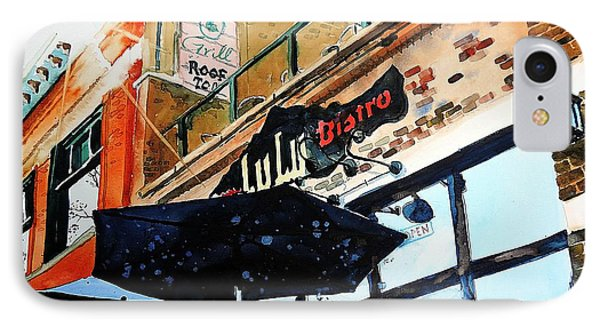 Lulu Asian Bistro IPhone Case by Tom Riggs