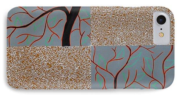 Luminous Tree Of Barsoom Phone Case by Sumit Mehndiratta