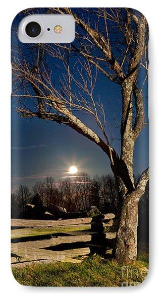 Lunar Landing - Blue Ridge Parkway IPhone 7 Case by Dan Carmichael