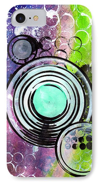 Lunar Speakers IPhone Case by Jennifer Pavia