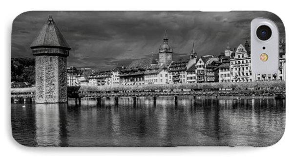 Lucerne Reflected IPhone Case by Carol Japp