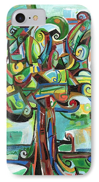Lyrical Tree Phone Case by Genevieve Esson