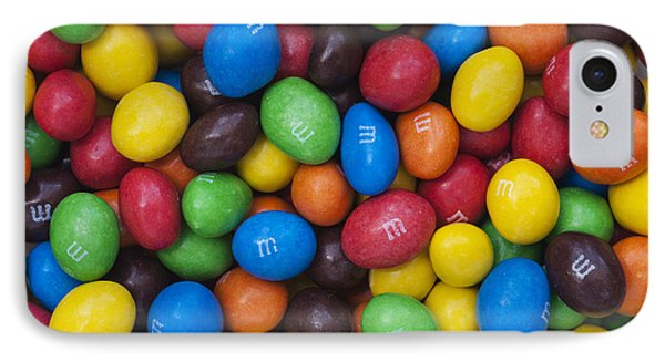 M And Ms IPhone Case by Tim Gainey