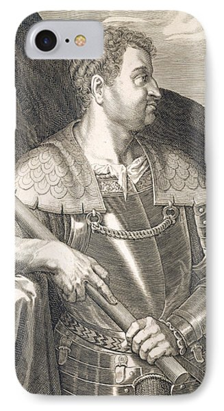 M Silvius Otho Emperor Of Rome IPhone Case by Titian