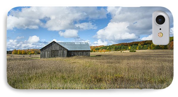 M22 Barn On A Sunny Day IPhone Case by Gej Jones