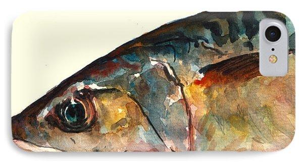 Mackerel Fish IPhone Case by Juan  Bosco