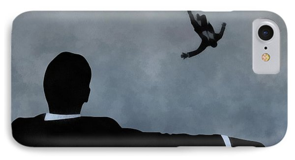 Mad Men Art IPhone Case by Dan Sproul