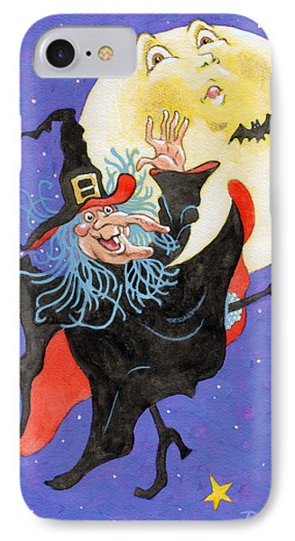 Mad Millie Moon Dance Phone Case by Richard De Wolfe