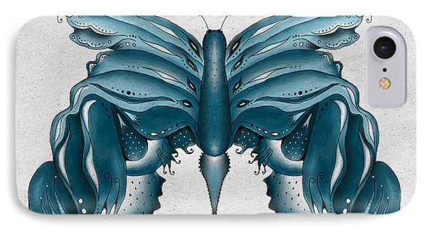 Madam Butterfly IPhone Case by Brenda Bryant