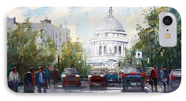 Madison - Capitol IPhone Case by Ryan Radke