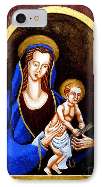 Madonna And Child Phone Case by Genevieve Esson