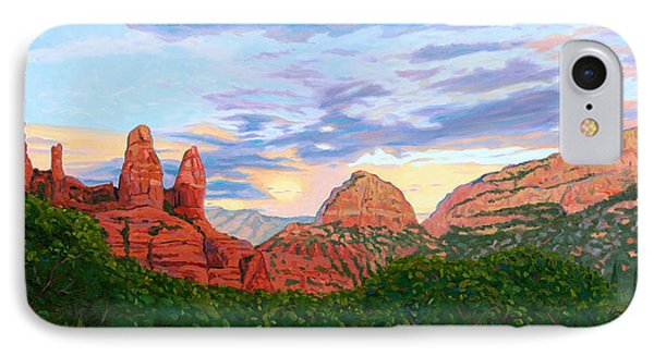 Madonna And Nuns - Sedona IPhone Case by Steve Simon