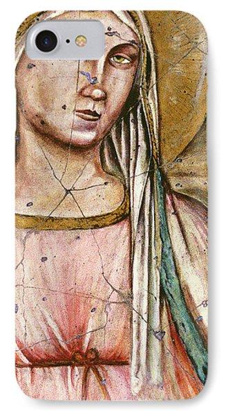 Madonna Del Parto - Study No. 1 Phone Case by Steve Bogdanoff