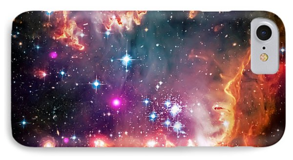 Magellanic Cloud 2 IPhone 7 Case by Jennifer Rondinelli Reilly - Fine Art Photography
