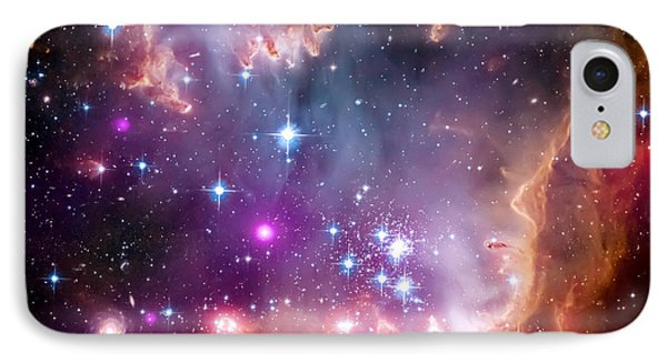 Magellanic Cloud 3 IPhone 7 Case by Jennifer Rondinelli Reilly - Fine Art Photography