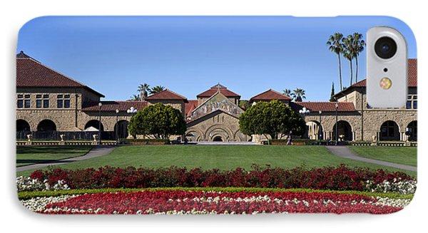Main Quad Stanford California IPhone Case by Jason O Watson