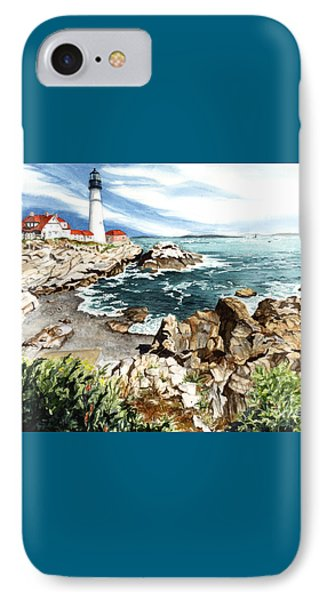 Maine Attraction Phone Case by Barbara Jewell
