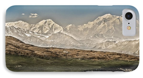 Majestic Mount Mckinley Phone Case by Penny Lisowski