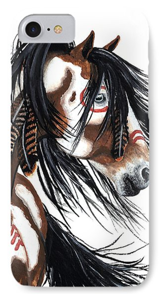 Majestic Pinto 29 IPhone Case by AmyLyn Bihrle
