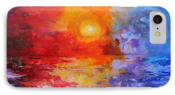 Majestic Sunset Phone Case by Julia Apostolova
