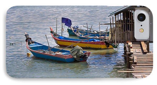 Malaysian Fishing Jetty Phone Case by Louise Heusinkveld