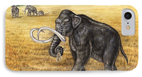 Mammoth Phone Case by Laurie OKeefe