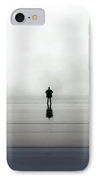 Man Alone IPhone Case by Joana Kruse