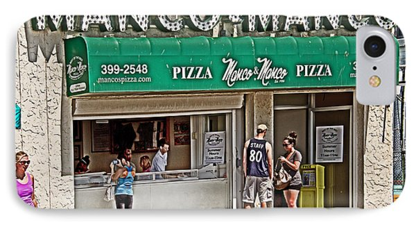 Manco And Manco Pizza IPhone Case by Tom Gari Gallery-Three-Photography