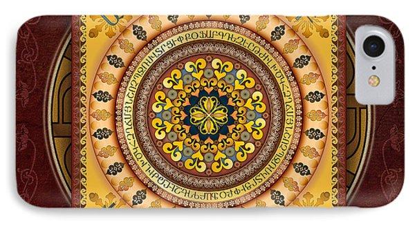 Mandala Armenia 'iypenkimta' Sp IPhone Case by Bedros Awak