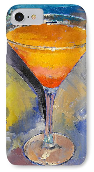 Mango Martini IPhone Case by Michael Creese