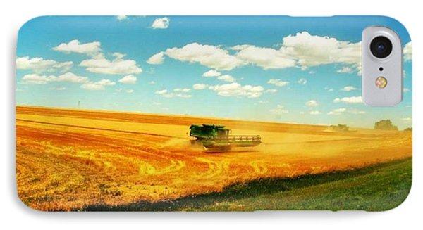 Mankato Nebraska Wheat Harvest IPhone Case by PainterArtist FIN