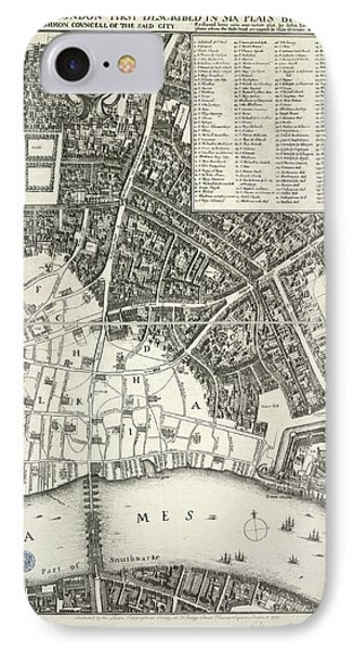 Map Of London IPhone 7 Case by British Library