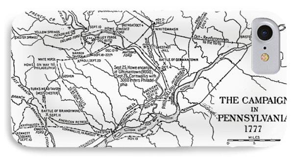 Map: Pennsylvania, 1777 IPhone Case by Granger