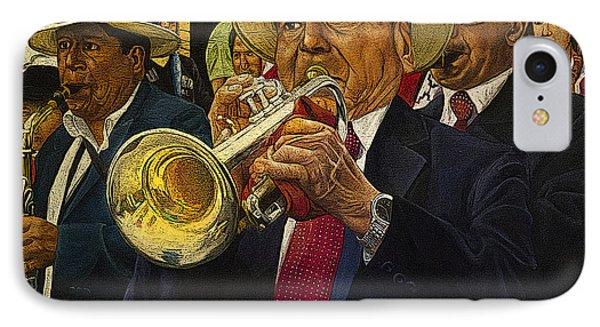Mardi Gras IPhone Case by Al Bourassa
