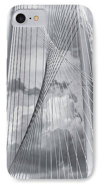 Margaret Hunt Hill Bridge IPhone Case by Joan Carroll