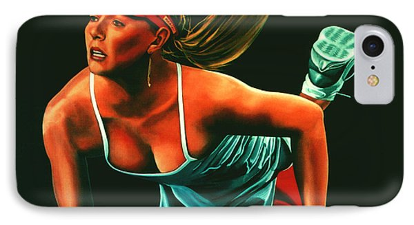 Maria Sharapova  IPhone Case by Paul Meijering