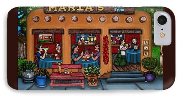 Maria's New Mexican Restaurant IPhone Case by Victoria De Almeida