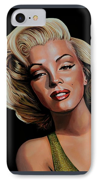 Marilyn Monroe 2 IPhone Case by Paul Meijering