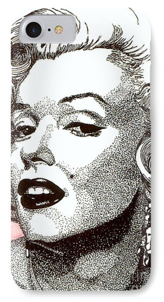 Marilyn Monroe IPhone Case by Cory Still