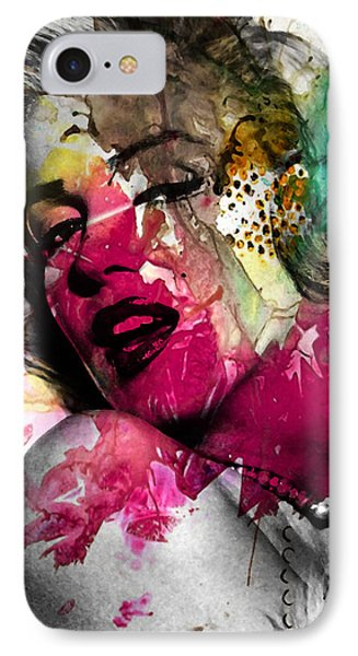 Marilyn Monroe IPhone 7 Case by Mark Ashkenazi
