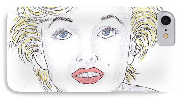 Marilyn IPhone Case by Steven White