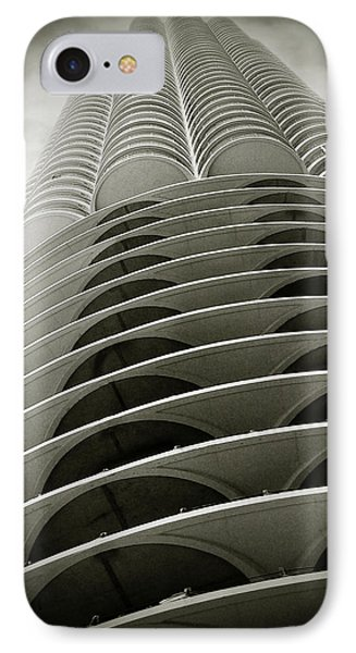 Marina City Chicago Il Phone Case by Christine Till