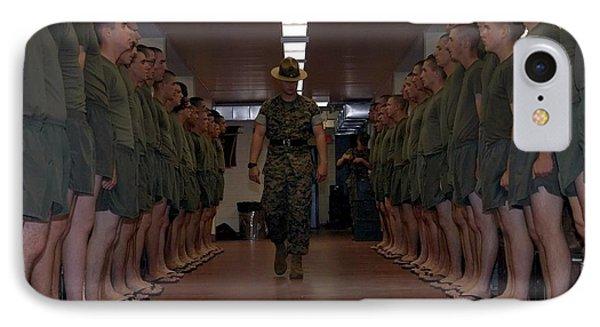 Marine Basic Training Phone Case by Mountain Dreams