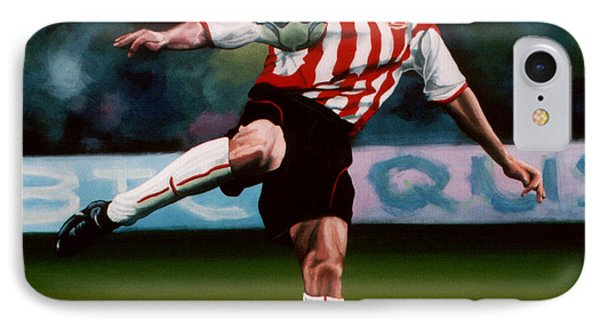 Mark Van Bommel IPhone Case by Paul Meijering